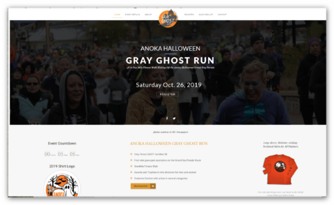 gray ghost run home page